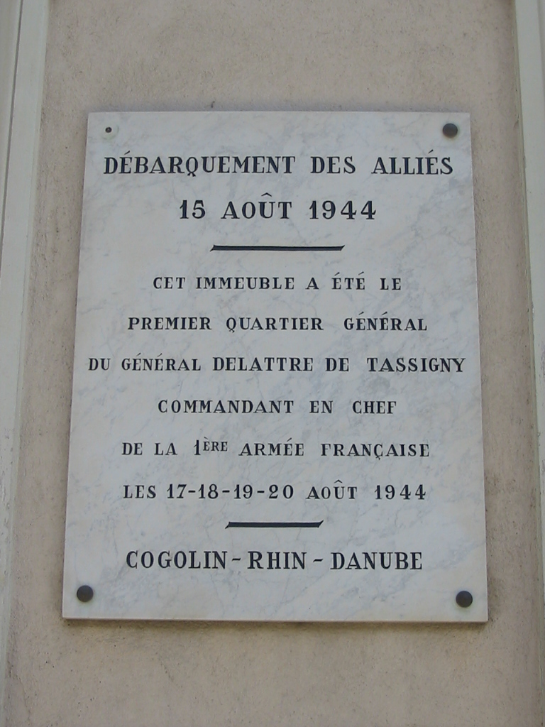 Premier PC français en France, Cogolin, avenue De Lattre de Tassigny.